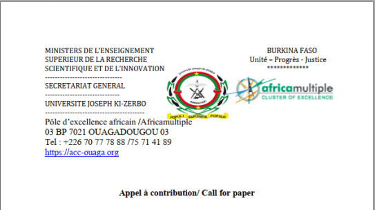 Call for contribution/ Call for paper