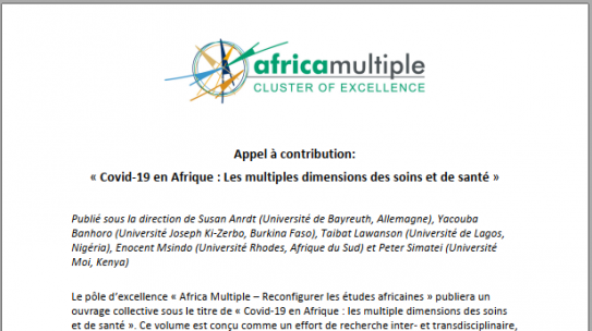 Appel à contribution/ Call for paper