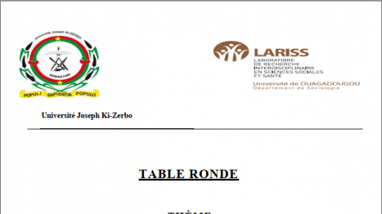 TABLE RONDE LARISS